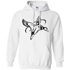 All American White Hoodie