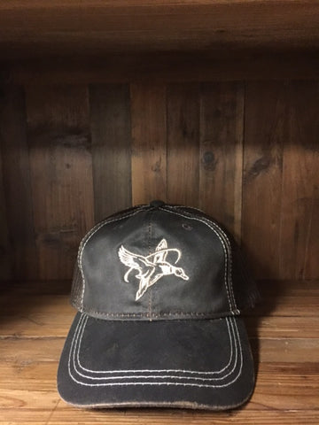 Brown HALO Hat With Signature Logo