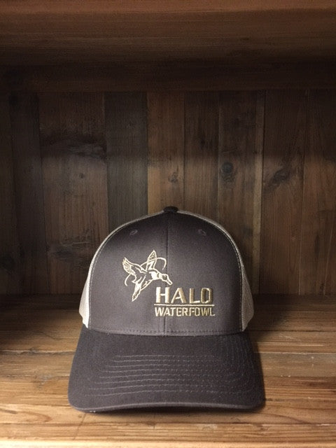 Brown Retro Trucker Cap