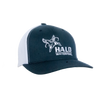 Navy/White Retro Trucker Cap