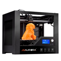 JGAURORA 3d Printer Desktop FDM 3d Printers Metal Frame Professional High Resolution Stable Working 3d Printing Machine,Large LCD Display Big Printing Size Popular in Industry and Education