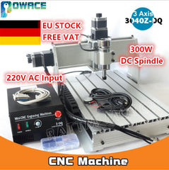 [EU/US Delivery/Free VAT] 3 Axis 3040Z-DQ Desktop Ball Screw CNC Router ENGRAVER/ENGRAVING Milling Machine Drilling 220V/110V