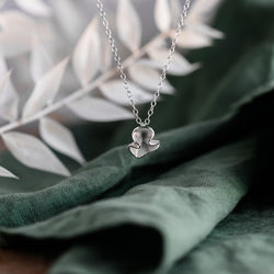 Silver Blossom Necklace - Small