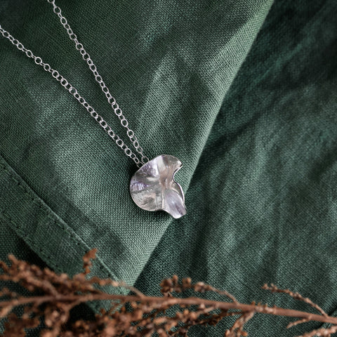 Silver Blossom Necklace - Large