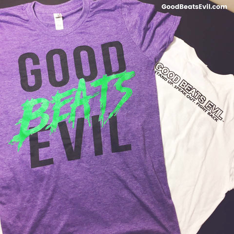 GOOD BEATS EVIL - Purple