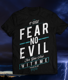 Fear No Evil - Black Unisex Tee