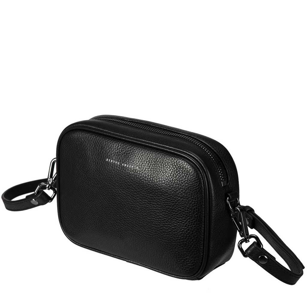 Status Anxiety cross body handbag black side