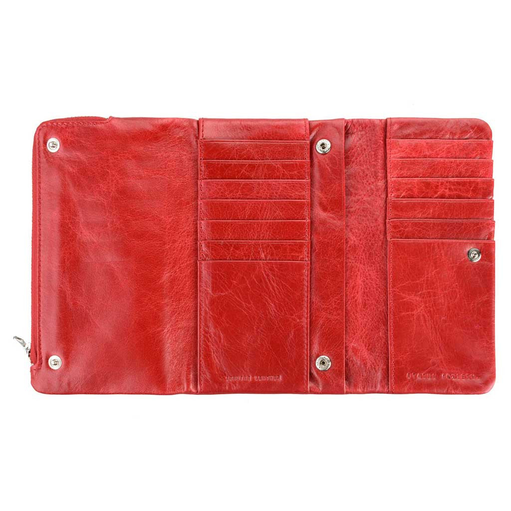 Wallet - Audrey red