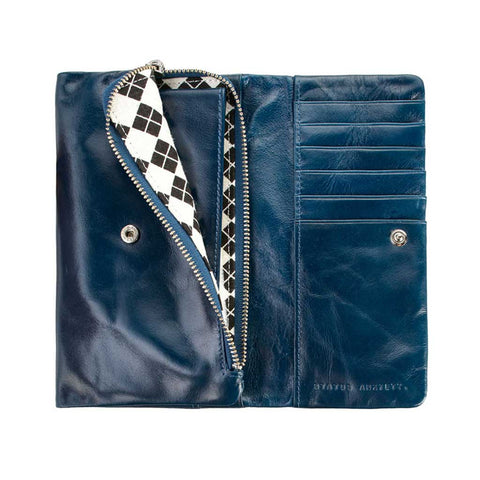 Wallet - Audrey royal blue