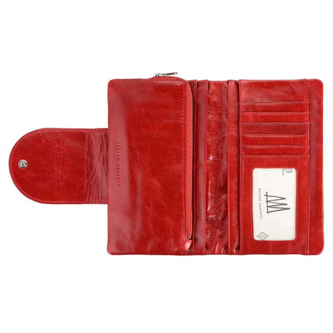 Wallet - Evelyn red