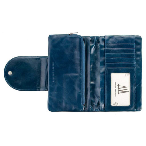Wallet - Evelyn royal blue