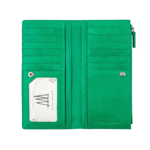 Wallet - Dakota Emerald