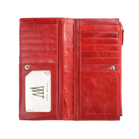 Wallet - Dakota red