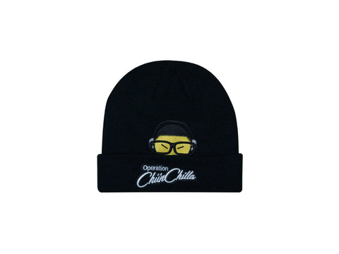 OCC The Ninja Inside CUFF BEANIE BLACK