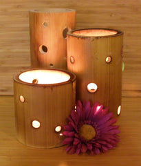 Bamboo Centre Piece - Luminating