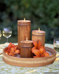 Bamboo Centre Pieces