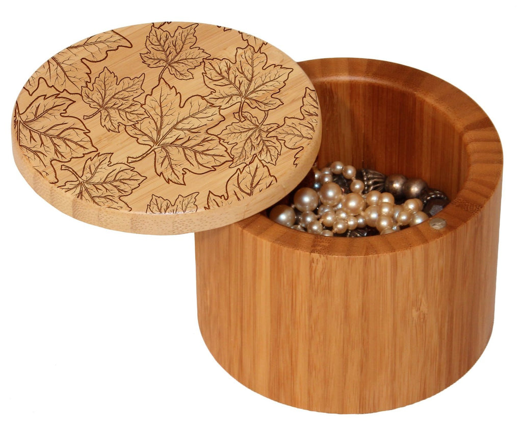 Bamboo Salt Box   Etched Designs ...