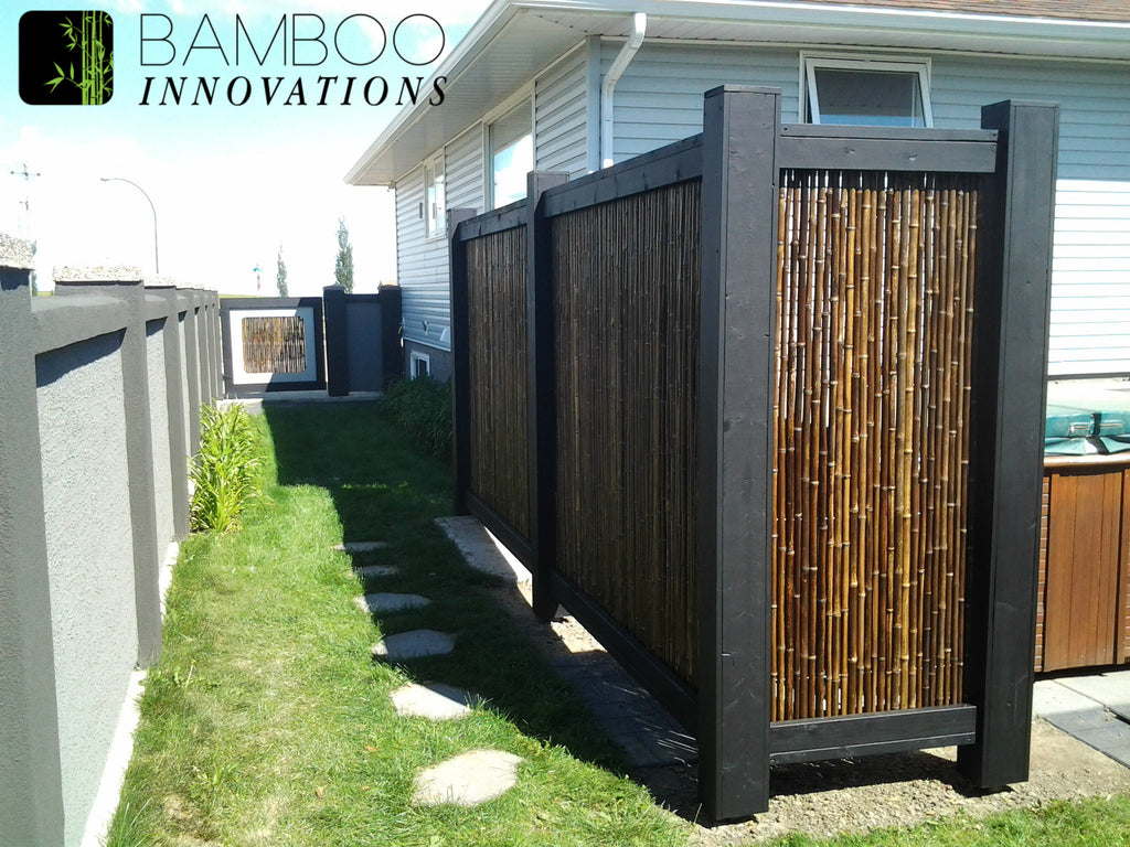 privacy screens photo gallery bamboo innovations