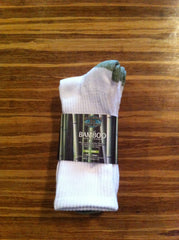 Bamboo Socks - Mens Crew 7-13 (3PK)