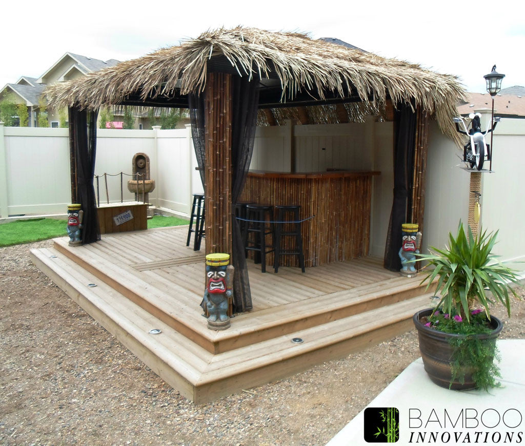 tiki hut and bars photo gallery bamboo innovations