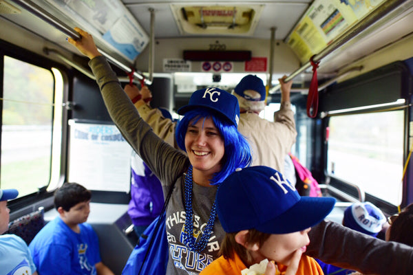Heading downtown to the Royals World Series Parade