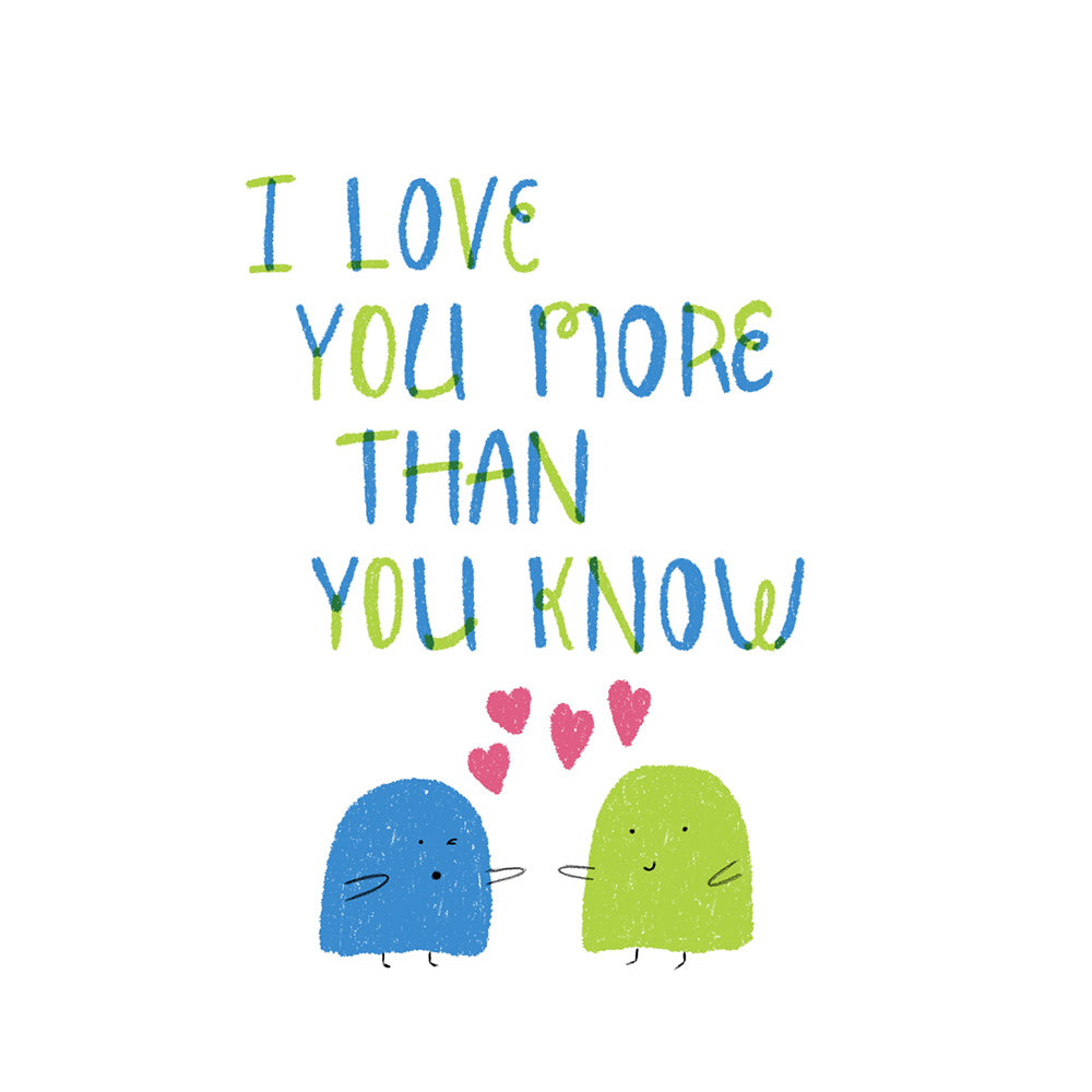 i love you more than you know sketch