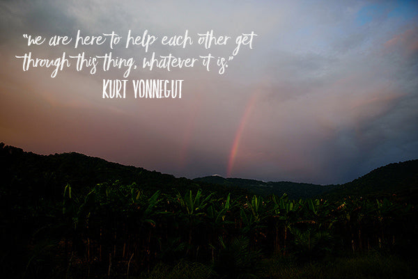 costa rican sunset kurt vonnegot quote