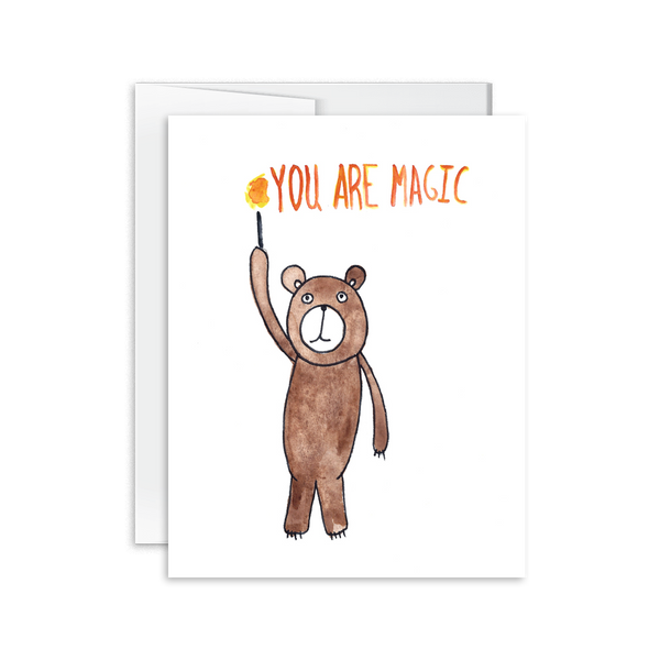 You Are Magic Bear Card [product type] - Hello Happiness Card Co