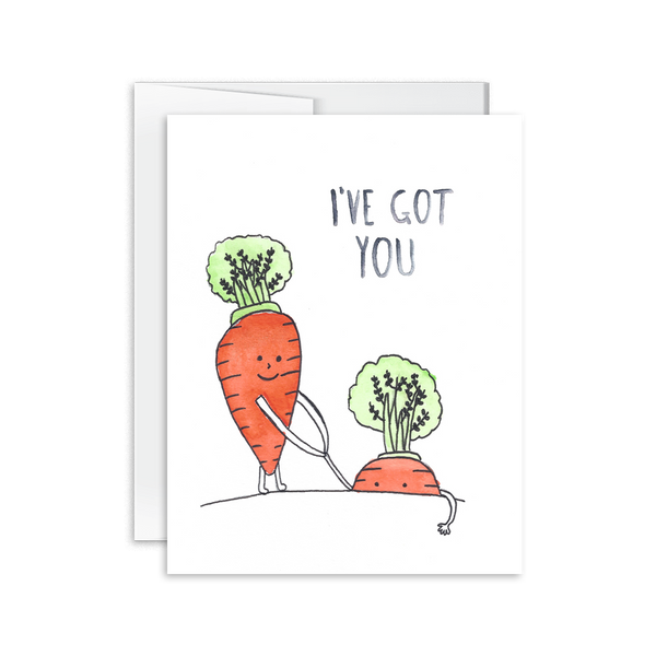 I've Got You Carrots Card [product type] - Hello Happiness Card Co