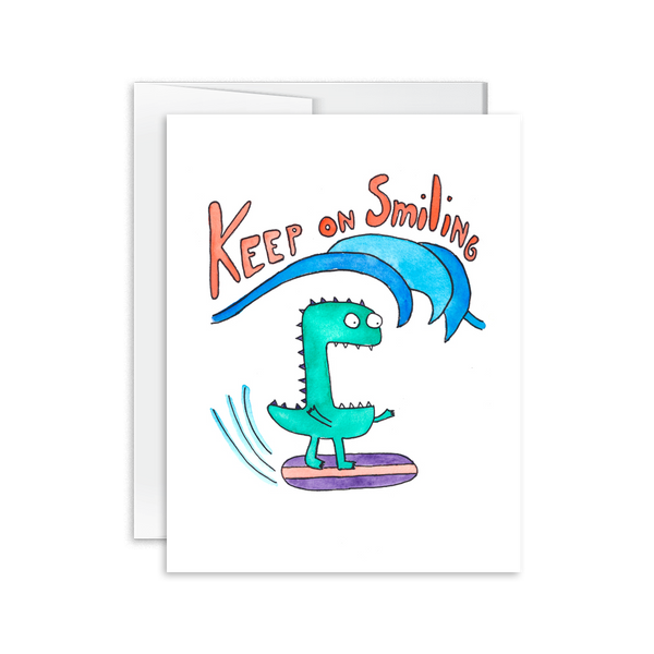 Keep on Smiling Card [product type] - Hello Happiness Card Co