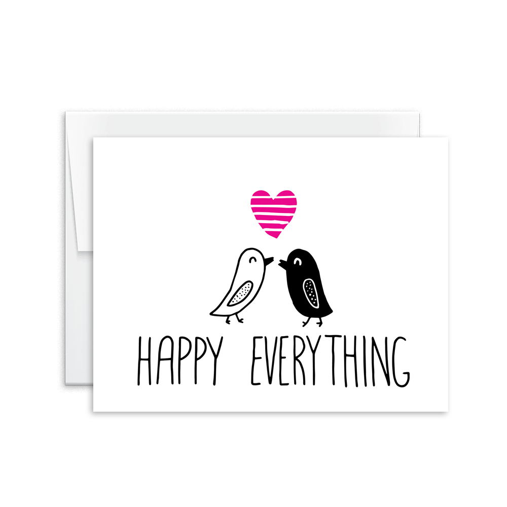 Happy Everything Card [product type] - Hello Happiness Card Co