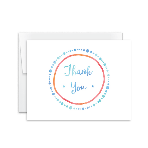Thank You (Dots) Card [product type] - Hello Happiness Card Co