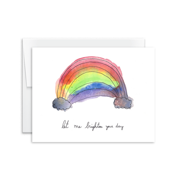 Let Me Brighten Your Day Card [product type] - Hello Happiness Card Co