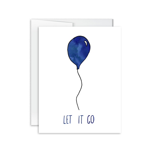 Let It Go Card [product type] - Hello Happiness Card Co