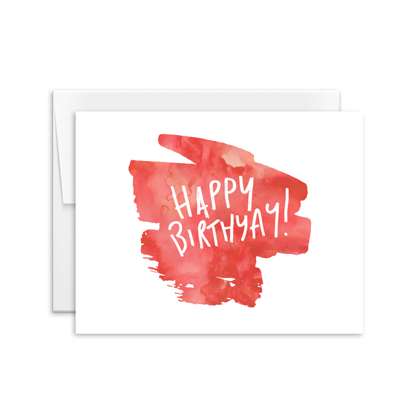 Happy Birthyay Card [product type] - Hello Happiness Card Co