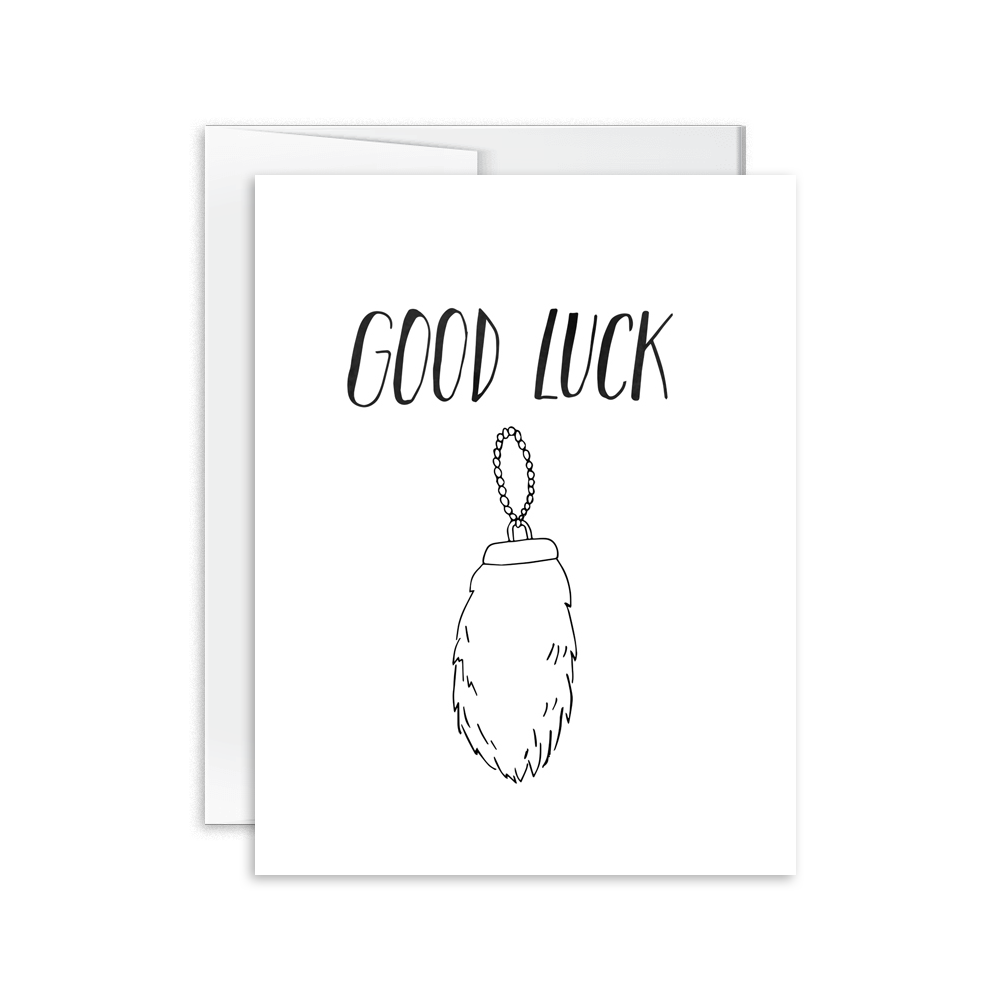 Good Luck Card [product type] - Hello Happiness Card Co