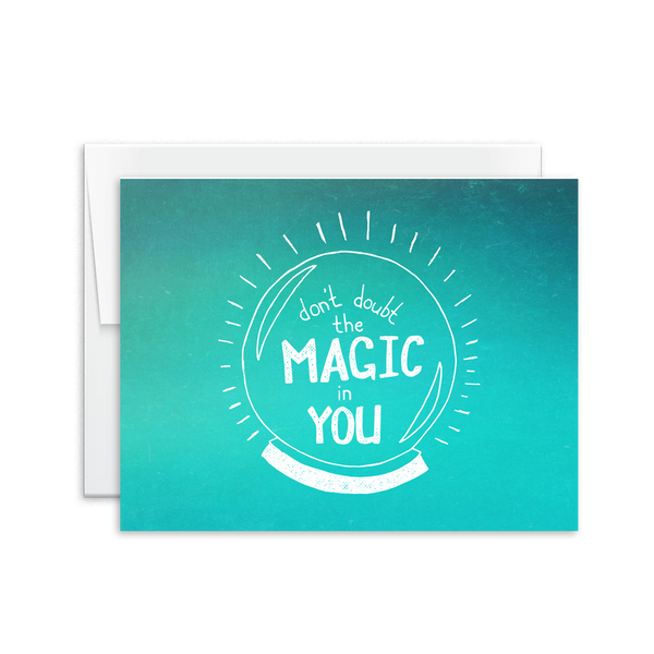 Don't Doubt the Magic in You Card [product type] - Hello Happiness Card Co