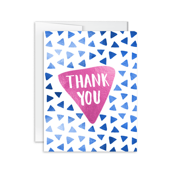 Thank You (Triangle) Card [product type] - Hello Happiness Card Co