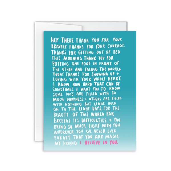 Encouragement Letter Card [product type] - Hello Happiness Card Co