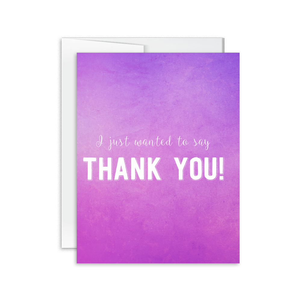 i just wanted to say thank you card hello happiness card co