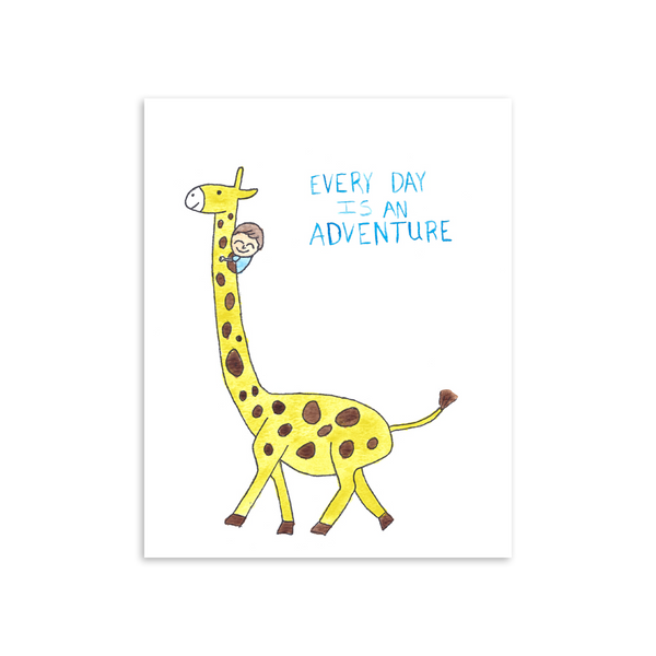 Every Day is an Adventure 8x10 Art Print [product type] - Hello Happiness Card Co
