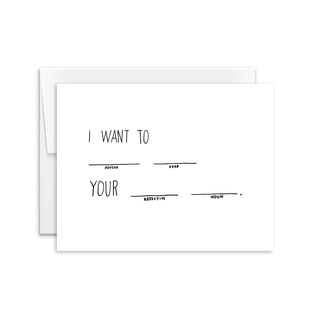 Mad Lib I Card [product type] - Hello Happiness Card Co
