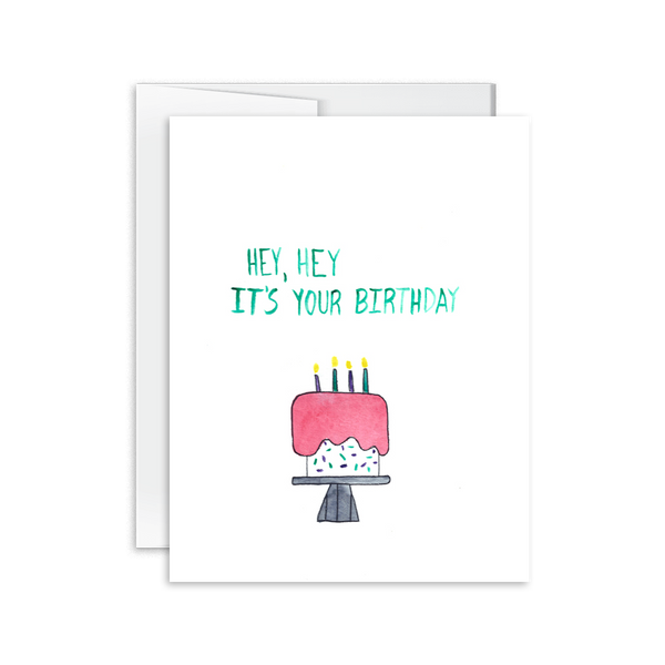 Hey Hey It's Your Birthday Card [product type] - Hello Happiness Card Co