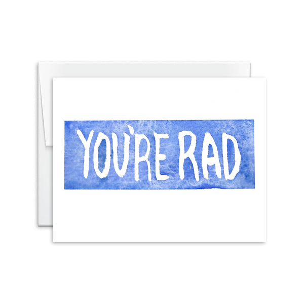 You're Rad Card [product type] - Hello Happiness Card Co