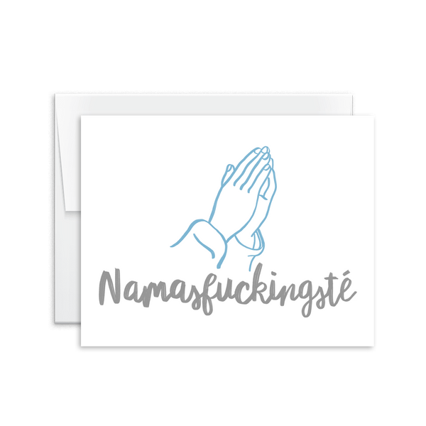 Namasfuckingsté Card