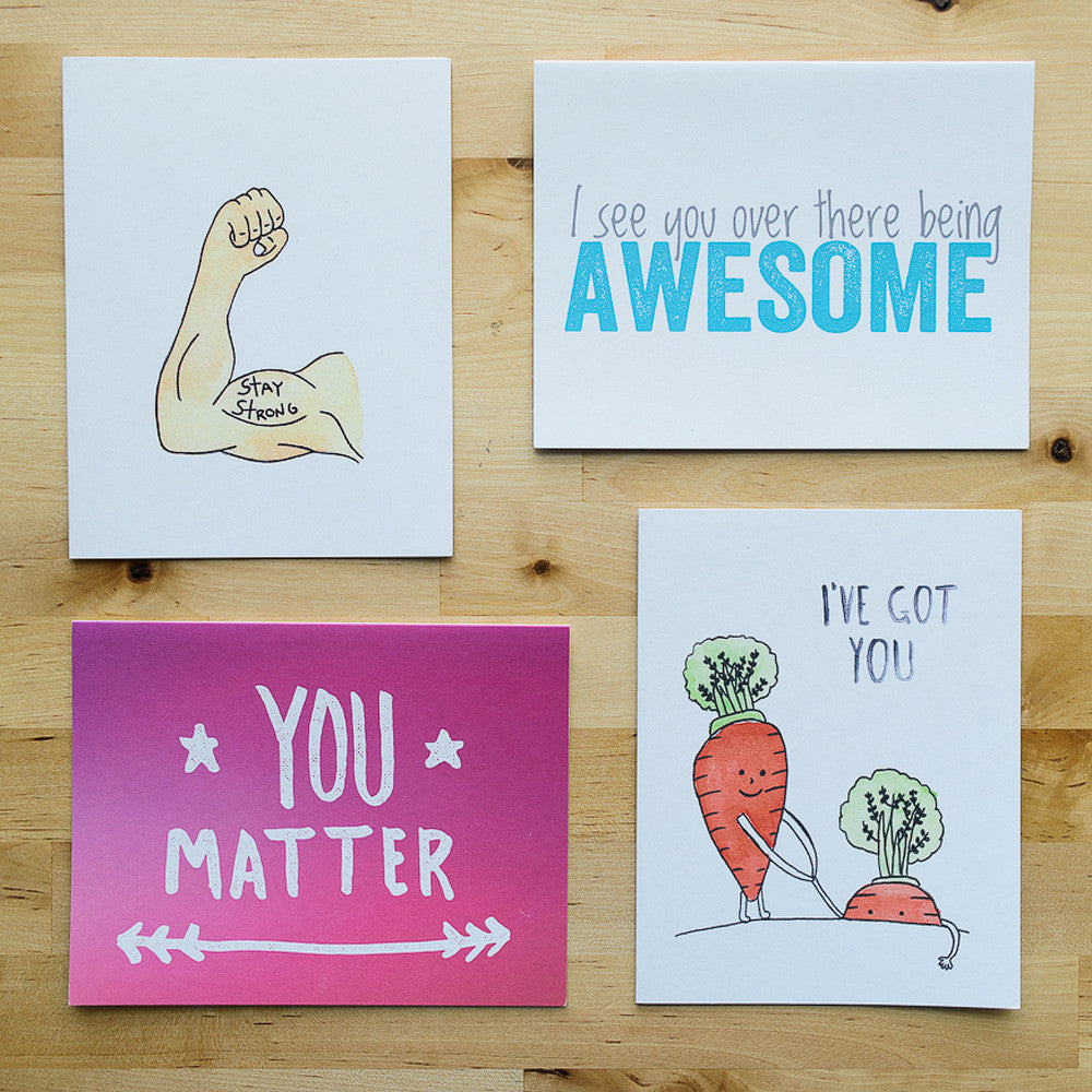 best selling cards from the hello happiness card co
