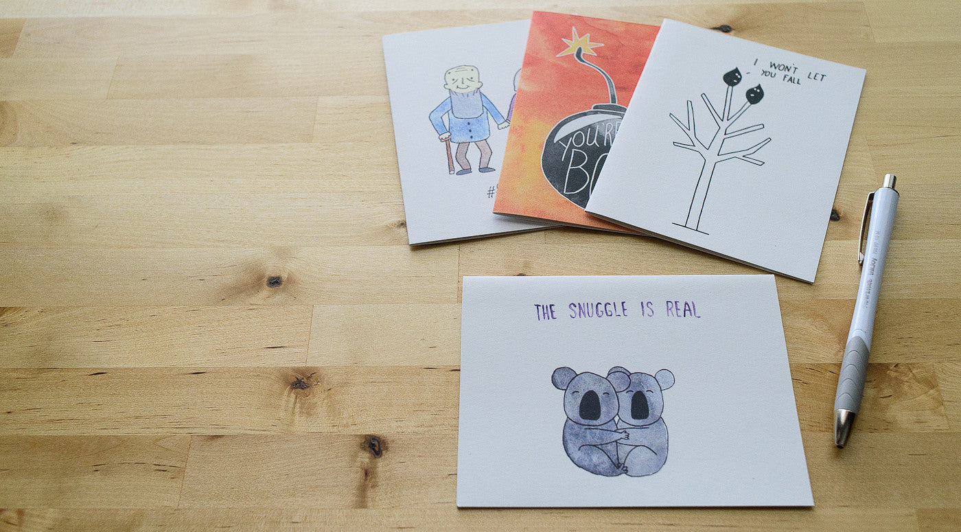 greeting cards for the encouragers of the world
