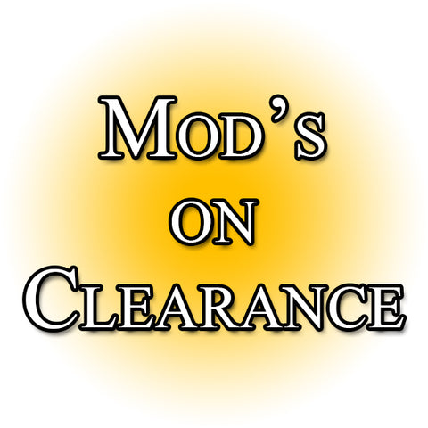 mods on clearance