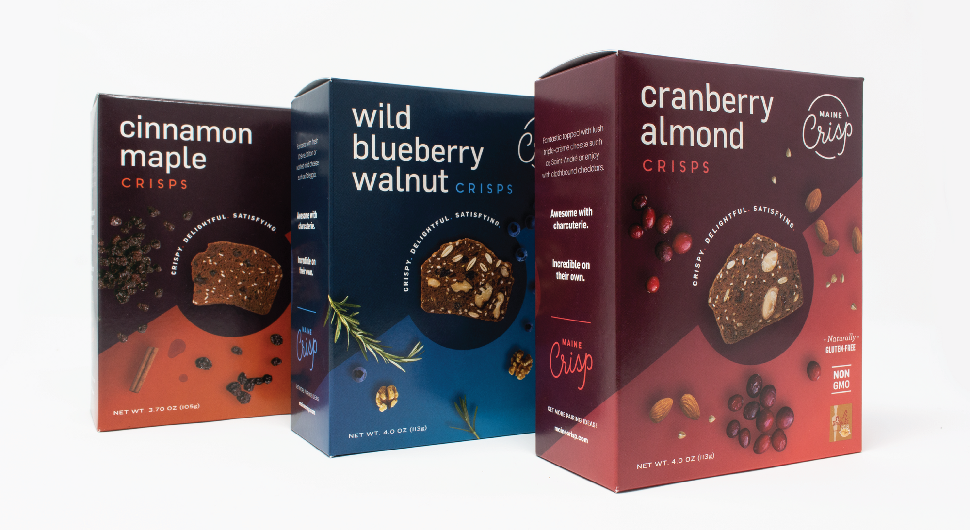 Maine Crisp Company Releases Brand Refresh and Updated Packaging