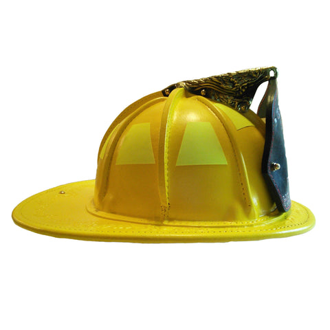 TL-2 NFPA Traditional Leather Yellow, Base Price  includes choice of goggles and Nape Suspension with detachable earlaps